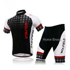 Outdoor Gear Bike Cycling short sleeve bicycle suit jersey + shorts men