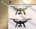 3DR SOLO Drone Decal Sticker SET OF 2 Quad Die cut vinyl detailed 4""