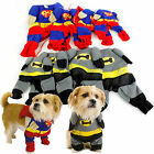 Dog Cat Pet Superhero Novelty Costume Clothing Small Dogs Puppies