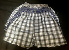 3 Pairs or 6 Pairs Mens Boxer Shorts Assorted Plaid Underwear, M, L, XL, XXL