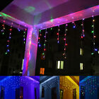 3.5m 96 LED 110v Icicle Light-Christmas Light Lamp Indoor/Outdoor Party Decor