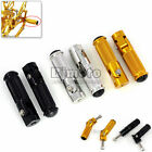 CNC Universal Motorcycle Folding Foot Pegs Rear set Footrest Racing Pedals Steps image