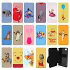 Winnie The Pooh Flip Wallet cover case for Apple iPhone No. 31