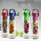 700ML FRUIT INFUSION WATER BOTTLE SPORTS HEALTH LEMON JUICE SLIMMING DETOX DRINK