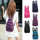 Women's Waterproof Mini Small Sling Backpack Rucksack Travel Casual Purse bag