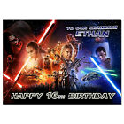 723; Personalised Birthday card; Star Wars 7 The Force Awakens; for any age name