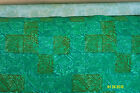 Upholstery, Drapery, Curtain Cloth Fabric Material, Green Pattern Canvas