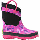 NEW WESTERN CHIEF PINK HEART CAMO NEOPRENE GIRLS KIDS YOUTH INSULATED BOOTS NIB