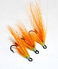 Flame Thrower x 3 salmon flies - doubles and trebles sizes 8, 10 and 12