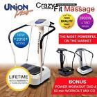 3900w Power Crazy Fit Vibration Massage Plate MP3 SpeakerS ***BEST AVAILABLE****