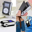 New Mini Portable USB Clip MP3 Player LCD Screen Support 32GB Micro SD TF Card