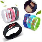 New Mens Womens Silicone Digital Rubber LED Sports Bracelet Band Wrist Watch