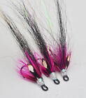 Naughty Girl x 3 salmon flies - doubles and trebles sizes 8, 10 and 12
