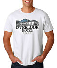 The Overlook Hotel T-Shirt, White S-3XL, Horror Halloween Shining REDRUM