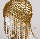 Jewelry Belly Dance Costume Cap Headdress Beaded Gold Silver