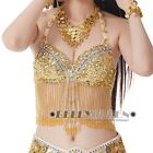 New Belly Dance Costume Bra Top  Many Colours