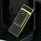 Electronic Windproof Ultra-Thin Metal Pulse Charge Usb Lighter Cigarette Lighter