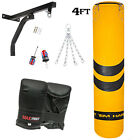 Boxing Punch Bags Set Heavy Duty Punchbag Punching Kick MMA Bracket Gloves Mits