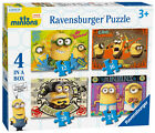 Minions 4 in Box Ravensburger Jigsaw Puzzles - 12, 16, 20 & 24 Piece