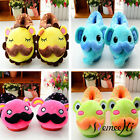 Cartoon Chrismas Props Costume Shoe Women Cartoon Plush Indoors Slippers