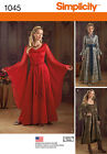 PATTERN SIMPLICITY Game of Thrones SEW 1045 Princess Dress Gown size 6 to 20
