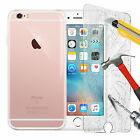 For New Apple iPhone 5s se 6s 7 8 Case Slim Clear TPU Gel Cover Glass Protector
