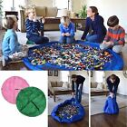 Baby Kids Toddler Lego Toys Storage Bag Play Mat Organizer Bin Dolls Box Rug XL
