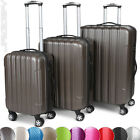 3 Pcs Luggage Suitcase Hard Case Cabin Trolley Set Travel Wheeled Hardcase