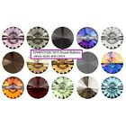 Swarovski Buttons sew on Crystal 3015 colors Wholesale pack All sizesCrystal - 179267