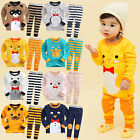 "Vaenait Baby Toddler Kid Boy Girls Clothes Sleepwear Pajama ""Tie Animal"" 12M-7T"