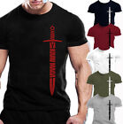 MENS KRAV MAGA T-SHIRT TRAINING WORKOUT FIGHTING