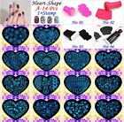 Love-Style Manicure Template Nail Art Printing Polish Plates Scraper Stamper Kit