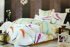 BED IN A BAG 7 PCS DUVET/QUILT/COMFORTER COVER+SHEETS+PILLOWCASES 100% COTTON