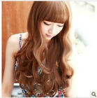 New Fashion Style Women Girls Sexy Long Curl Curly Full Wavy Hair Wig 3 Colors