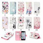 Flip New PU Leather Wallet Case Cover Card Holder Stand for Apple iPhone 6s plus