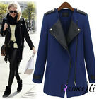 Hot sale Women Ladies Fashion Winter Long woolen Trench Coat Outwear