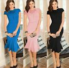 Trend Women Celebrity Elegant Party Evening Formal Prom Bodycon Mermaid Dress