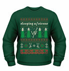 Official Sleeping With Sirens Festive Christmas Unisex Jumper Sweatshirt Sweats