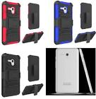 NP CITY Phone Case with Holster Belt Clip For Alcatel Fierce XL / 5054