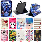Wolf Various Patterned Wallet Card Leather Case Cover For Samsung / Apple Tablet