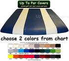 E-Z-Go Club Car Yamaha Two Stripe Golf Cart Custom Vinyl Canopy Roof Cover