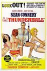 James Bond 007 Thunderball Movie Poster Canvas Wall Art Print Sean Connery Film £50.0 GBP on eBay