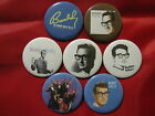 BUDDY HOLLY Charles Hardin Holley  Lubbock Texas singer music Set 7 SELECT SIZE