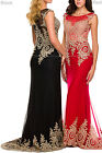 NEW UNIQUE PROM DANCE FORMAL GOWN PAGEANT DESIGNER LONG EVENING DRESS RED CARPET