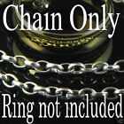 STAINLESS STEEL CHAIN for ONE RING LORD OF THE RINGS LOTR Movie Necklace Anklet