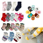 "Vaenait Baby Kids Toddler Clothes Girls Non-slip Socks Set ""Girls socks"" 1T-7T"