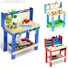 Children Work Bench Play Set DIY Builder Construction Workbench Kid Toy Tool Kit