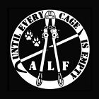ANIMAL LIBERATION FRONT Dog Cat Rights Shelter activist ALL SIZES! GILDAN TSHIRT