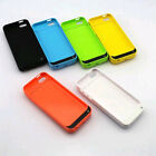 4200mAh External Backup Battery Power Bank Pack Charging Case fr iPhone 5c 5s SE