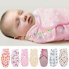 100% Cotton Newborn Baby Swaddle Wrap Lovely Soft Envelope Blanket Sleeping Bag